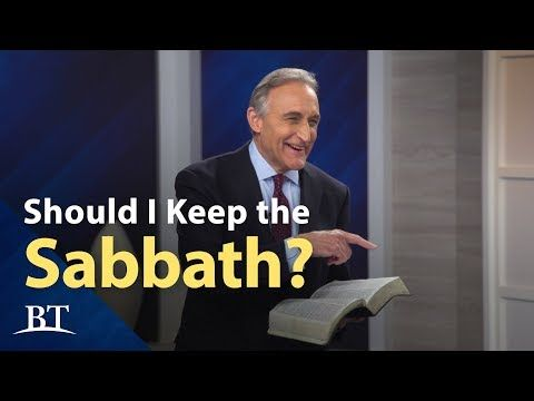 Should I Keep the Sabbath?