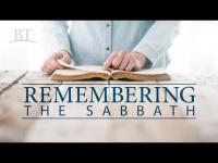 Remembering the Sabbath
