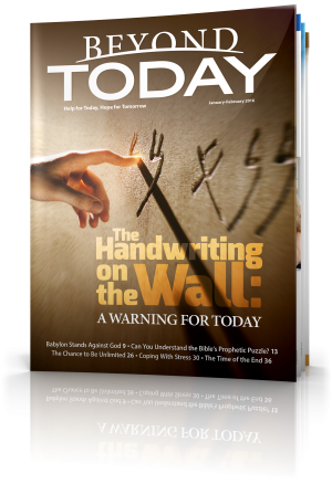 The Handwriting on the Wall: A Warning for Today