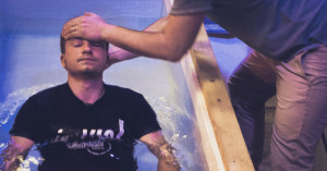 Water baptism and the laying on of hands