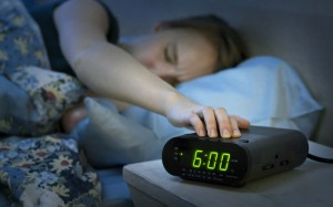 Pressing the spiritual snooze button