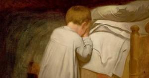 Teaching your children to pray