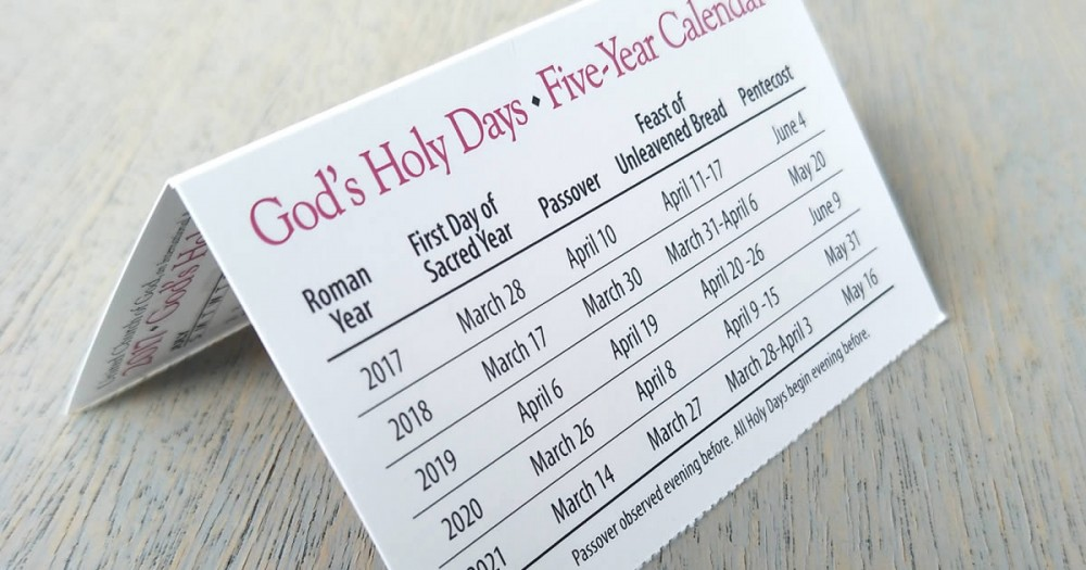 Are Biblical Holy Days for New Testament Christians?