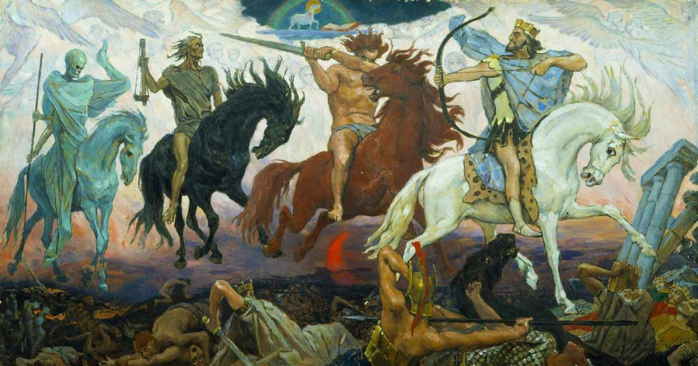 The 4 horsemen of Revelation