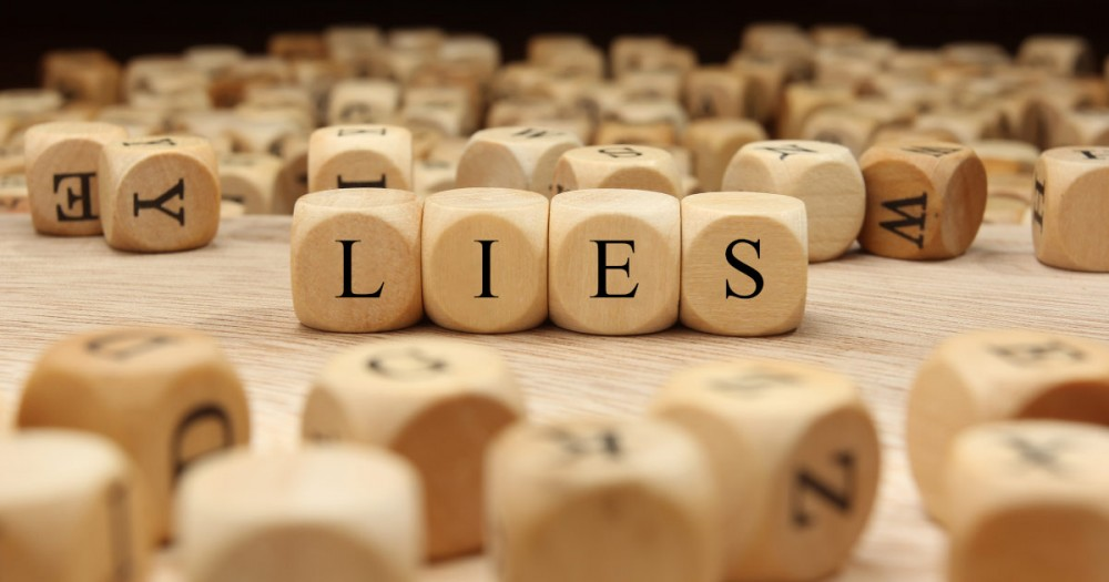 The sin of lying