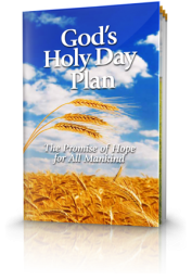 God's Holy Day Plan